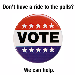 free ride to vote
